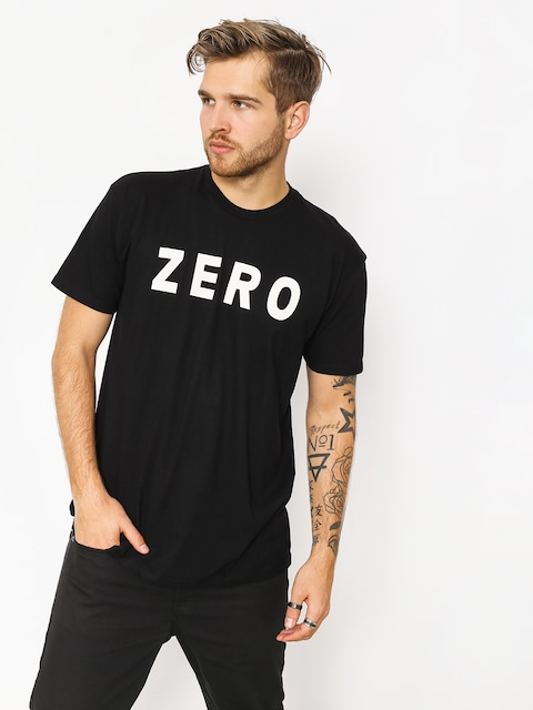 Tričko Zero Army (black)
