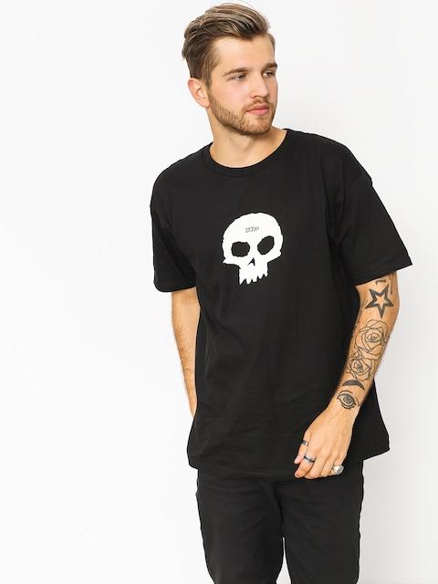 Tričko Zero Single Skull (black)