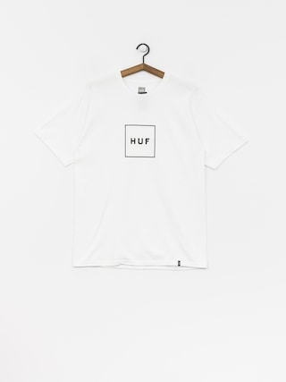Tričko HUF Essentials Box Logo (white)