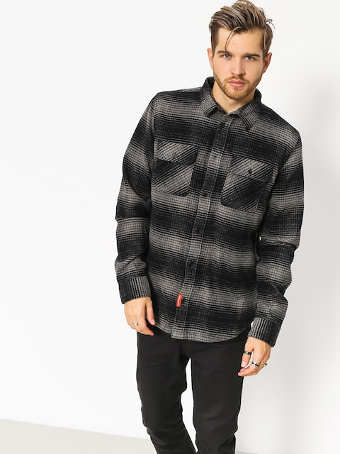 Košeľa DC Ombre Flannel (charcoal heather)