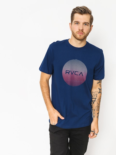 Tričko RVCA Rvca Motors Standard (blue depths)
