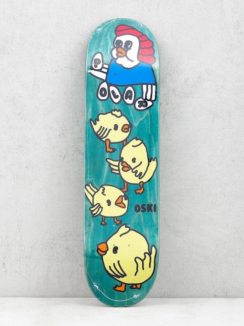 Doska Polar Skate Oskar Rozenberg Chicken Mama (green)