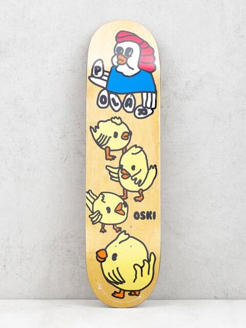 Doska Polar Skate Oskar Rozenberg Chicken Mama (narural)