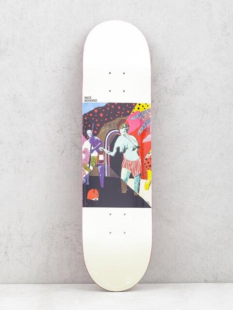 Doska Polar Skate Nick Boserio What We Do Is Secret (white)