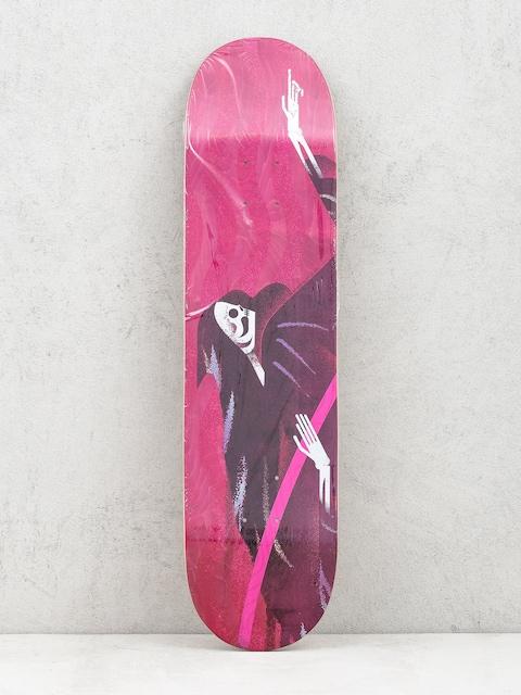 Doska Locals Skateboards Reaper (maroon)