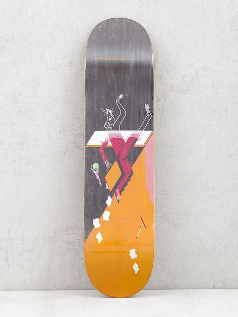 Doska Locals Skateboards Rat Race (orange/black)