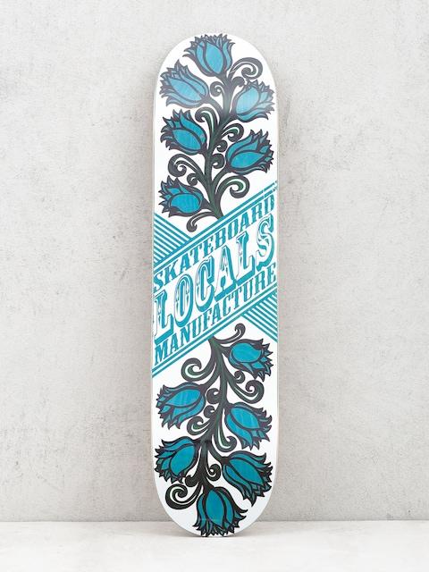 Doska Locals Skateboards Tulipan (blue)