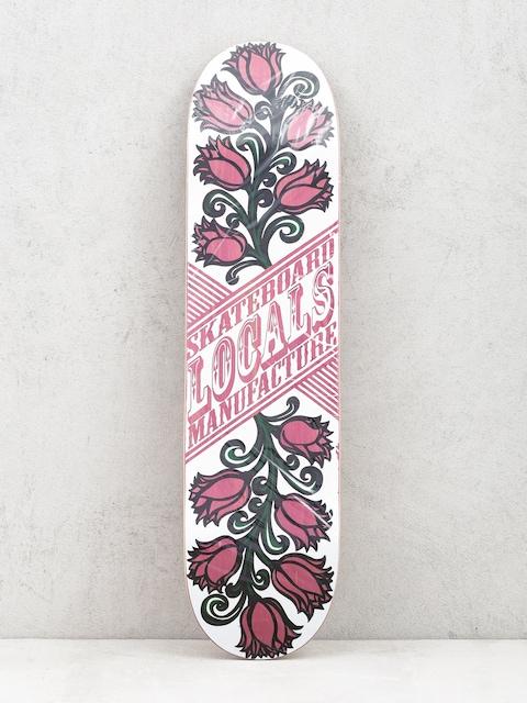 Doska Locals Skateboards Tulipan (pink)
