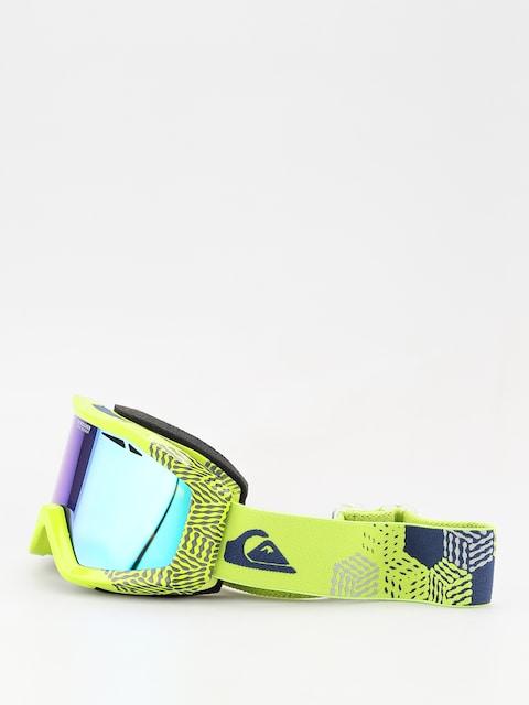 Okuliare na snowboard Quiksilver Fenom ML (lime green)
