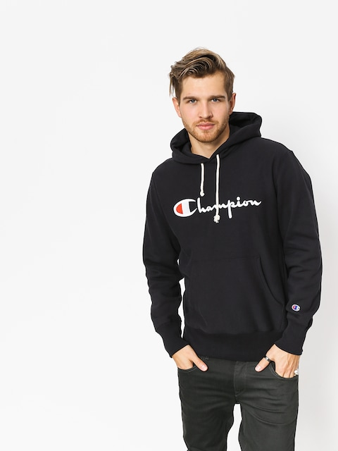 Mikina s kapucňou Champion Reverse Weave Hooded Sweatshirt HD (nbk)