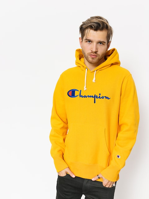 Mikina s kapucňou Champion Reverse Weave Hooded Sweatshirt HD (cuy)