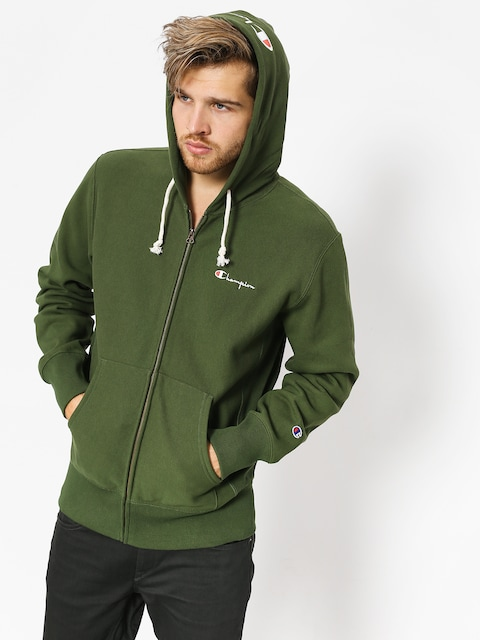 Mikina s kapucňou Champion Reverse Weave Hooded Full Zip Sweatshirt ZHD (baf)