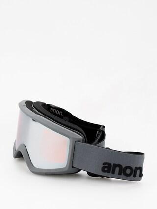 Okuliare na snowboard Anon Helix 2 Sonar W Spare (stealth/sonar silver)