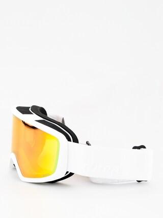 Okuliare na snowboard Anon Deringer Wmn (white/sonar pink)
