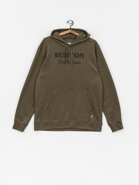Mikina s kapucňou Burton Durable Gds HD (dusty olive)