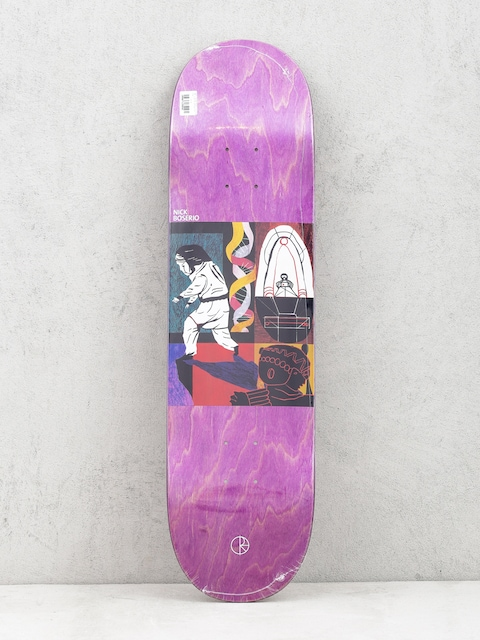 Doska Polar Skate Nick Boserio Alien Encounter (violet)
