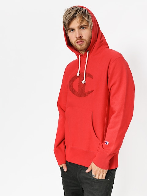 Mikina s kapucňou Champion Reverse Weave Hooded Sweatshirt HD (amb)