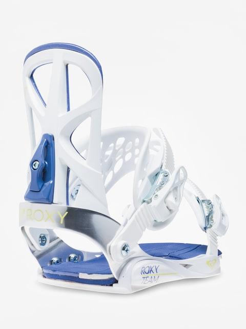 Snowboardové viazanie Roxy Team Wmn (white)
