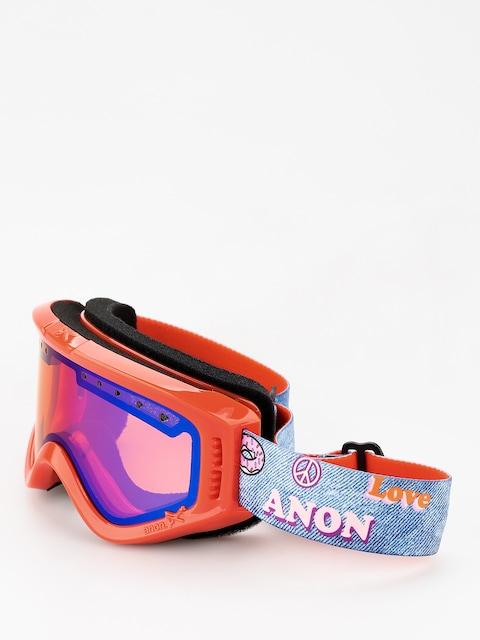 Okuliare na snowboard Anon Tracker (girl power/blue amber)