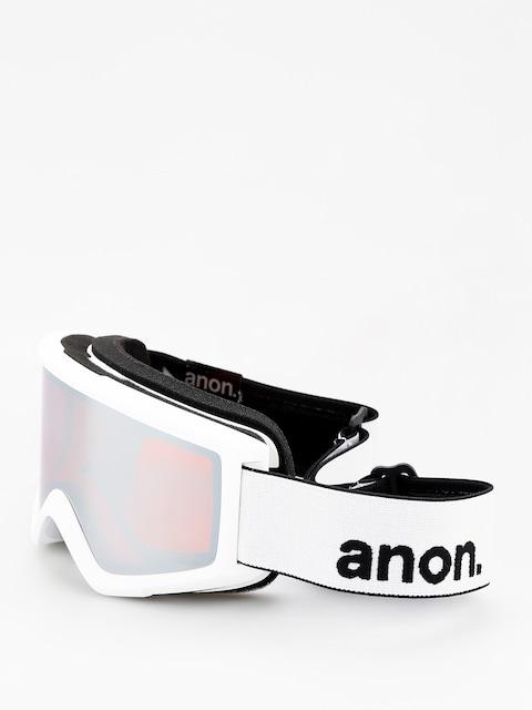 Okuliare na snowboard Anon Helix 2 Sonar W Spare (white/sonar silver)