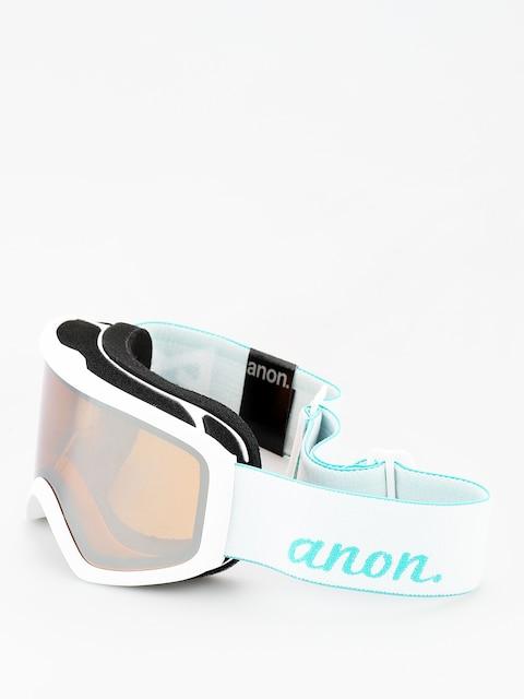 Okuliare na snowboard Anon Insight W Spare Wmn (white/silver amber)