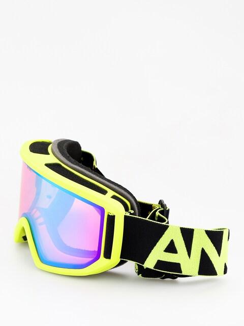 Okuliare na snowboard Anon Relapse (black green/sonar green)