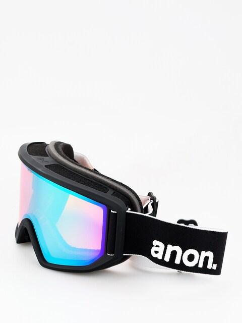 Okuliare na snowboard Anon Relapse (black/sonar green)