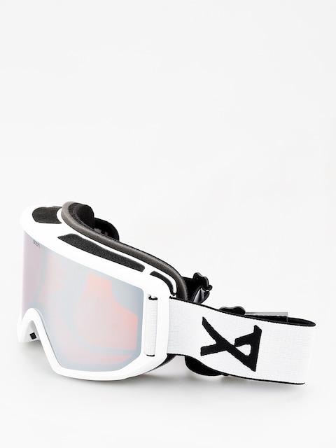 Okuliare na snowboard Anon Relapse (white/sonar silver)