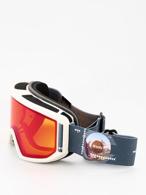 Okuliare na snowboard Anon Relapse (rush/sonar irblue)