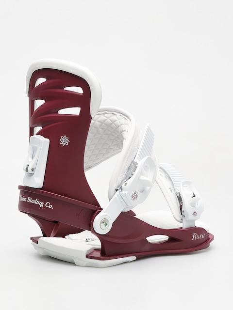 Snowboardové viazanie Union Rosa Wmn (burgundy)