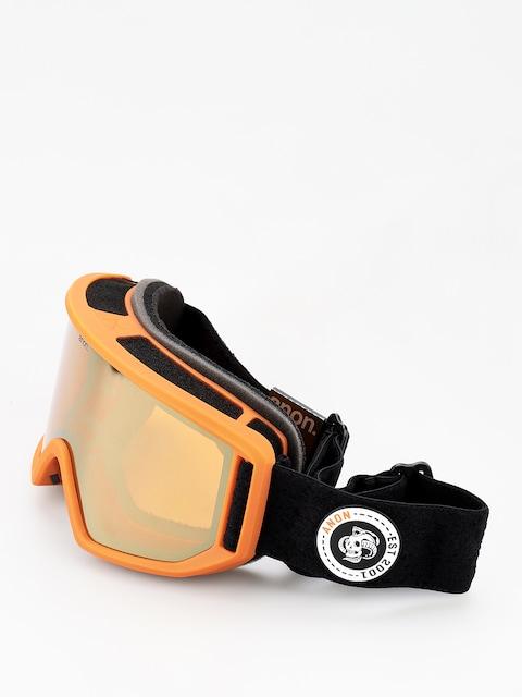Okuliare na snowboard Anon Relapse (moto/sonar bronze)