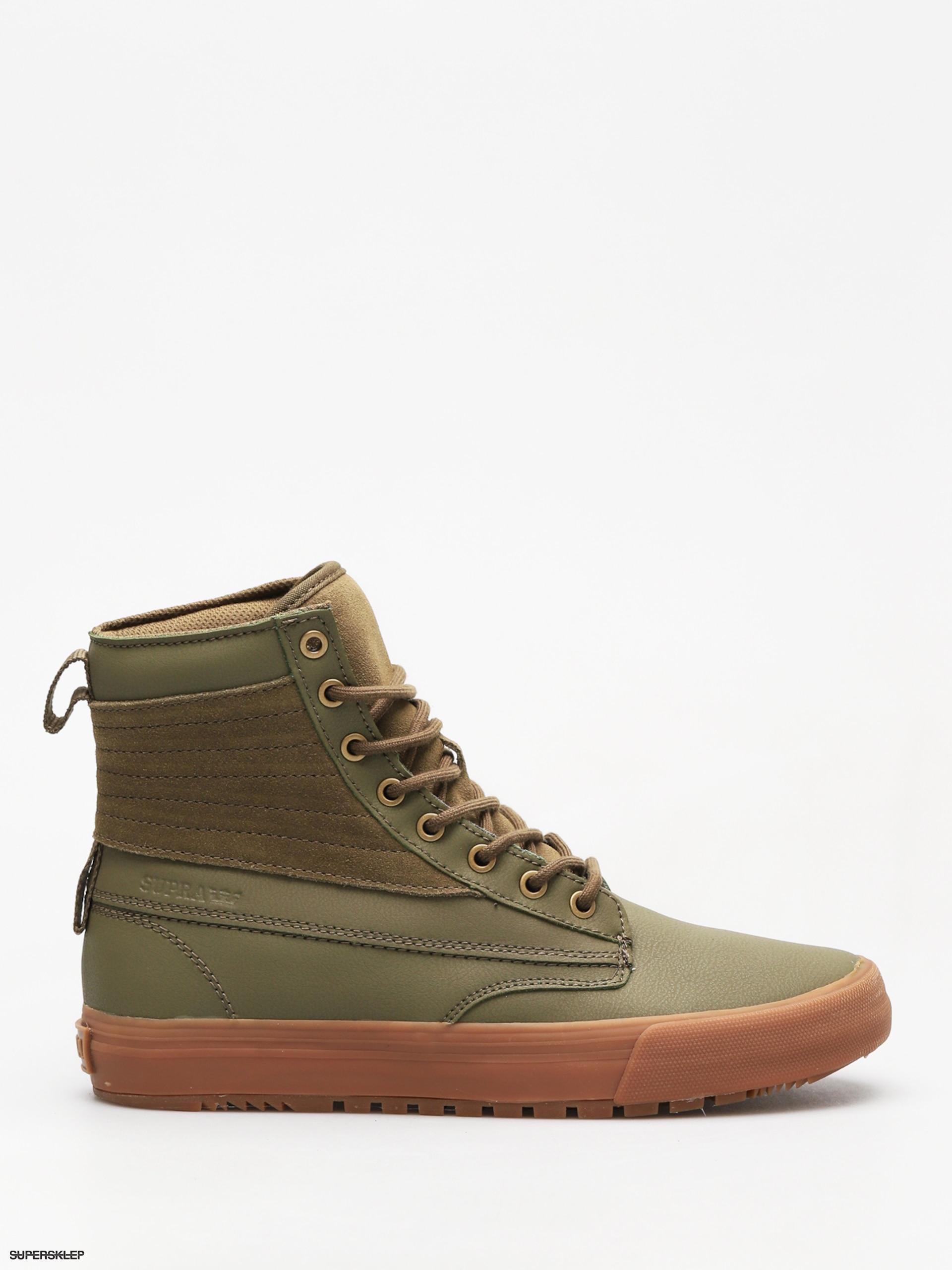 47eab983a1cca Zimné topánky Supra Graham Cw (olive lt gum)