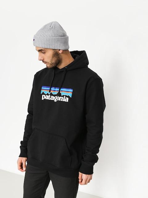 Mikina s kapucňou Patagonia Logo Uprisal HD (black)