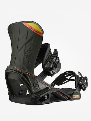 Snowboardovu00e9 viazanie Salomon Defender (black/olive)