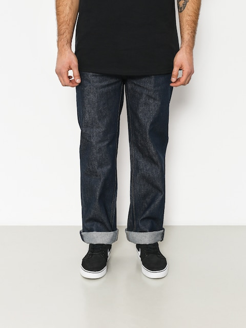 Nohavice Brixton Labor 5 Pkt Denim (raw indigo)
