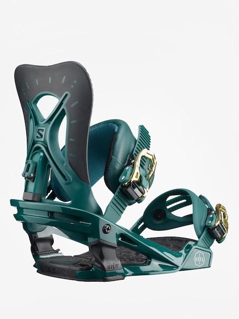 Snowboardové viazanie Salomon Nova Wmn (teal green)