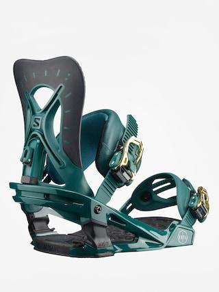 Snowboardovu00e9 viazanie Salomon Nova Wmn (teal green)