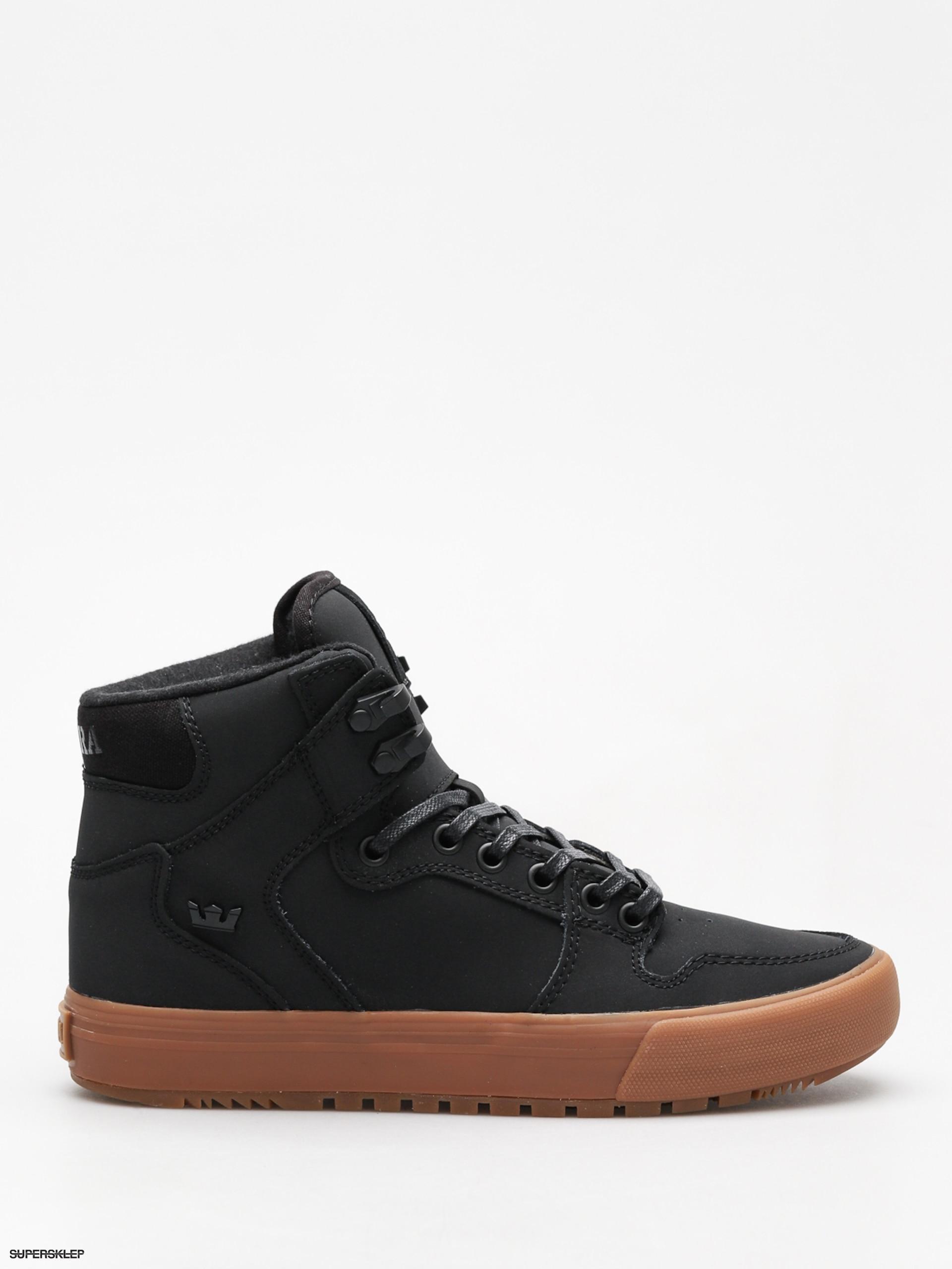 1bb59bd3196b6 Zimné topánky Supra Vaider Cw (black/black gum)