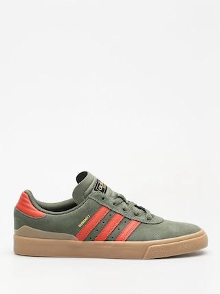 Topánky adidas Busenitz Vulc (base green/raw amber/gum4)