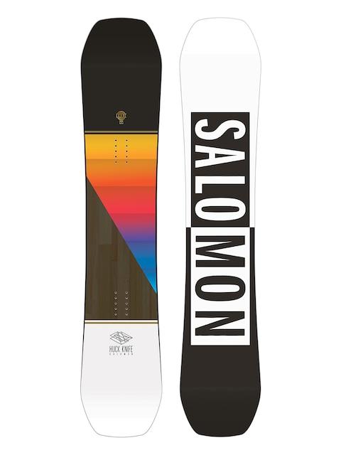 Snowboard Salomon Huck Knife (white/black)