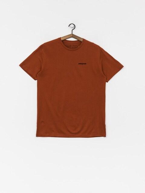 Tričko Patagonia Logo Organic (copper ore)