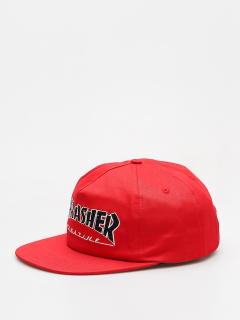 Šiltovka Thrasher Outlined Snapback (red)