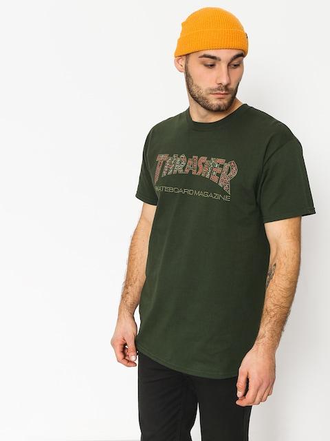 Tričko Thrasher Davis Forest (green)