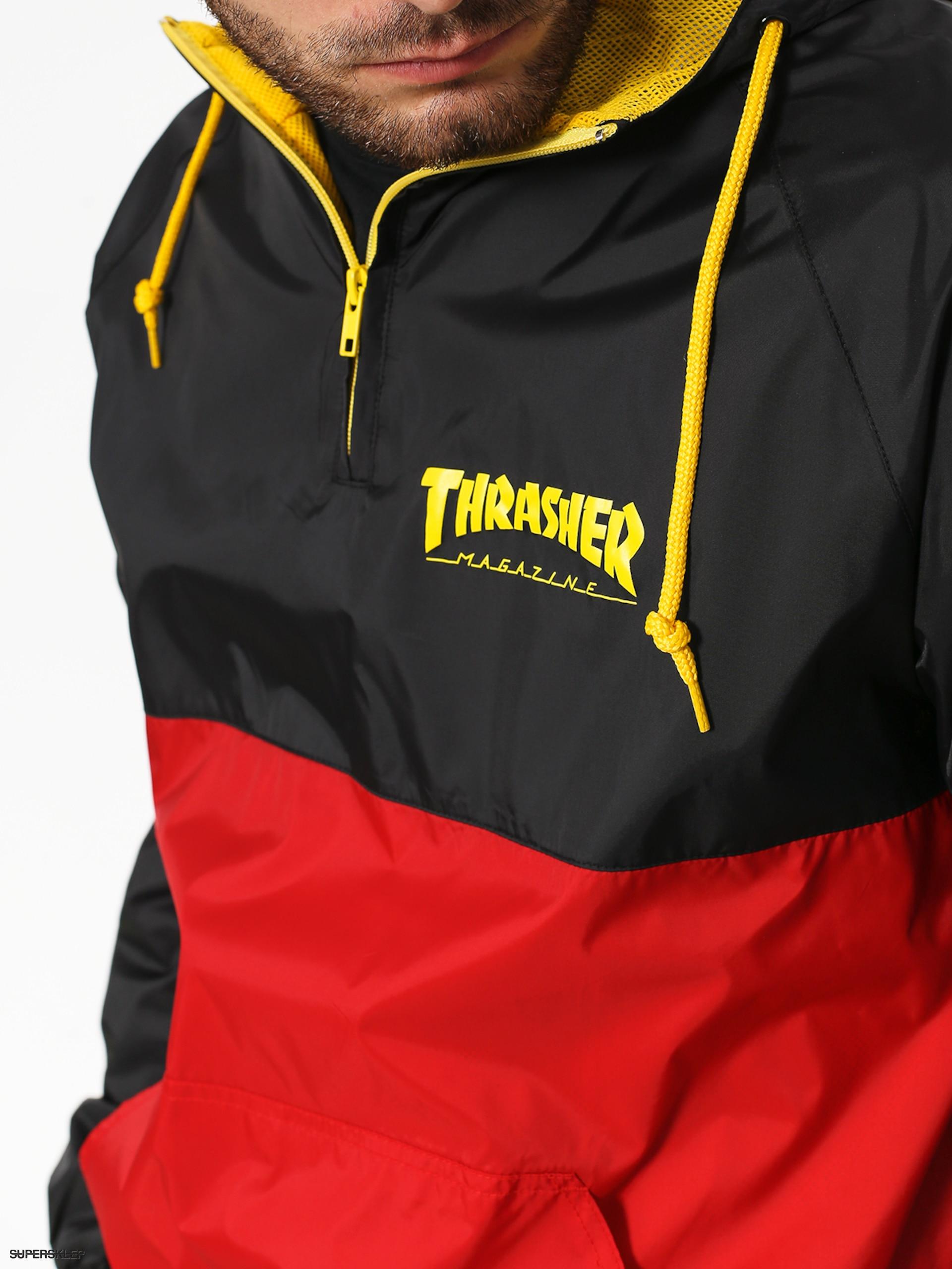 Thrasher Mag Logo Anorak Blackredyellow Official Photos 07c4e Cb58e Jaket Hodie Sk 17 Jacket Blackred Premium Selection B05cc E48b1 Bunda Black Red Wholesale Dealer 8d613 5f2d4