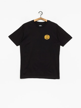 Tričko Turbokolor Oval Logo (black)