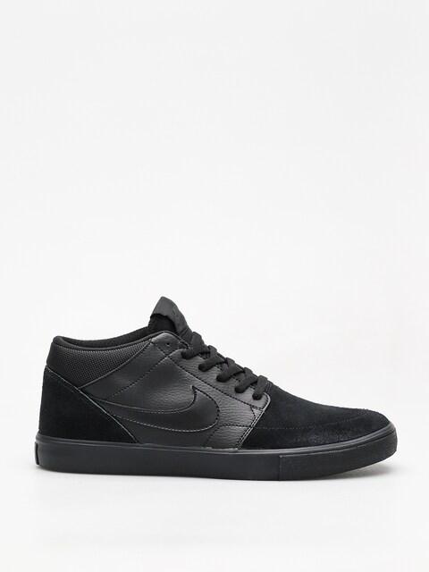 Topánky Nike SB Sb Solarsoft Portmore II Mid (black/black black anthracite)