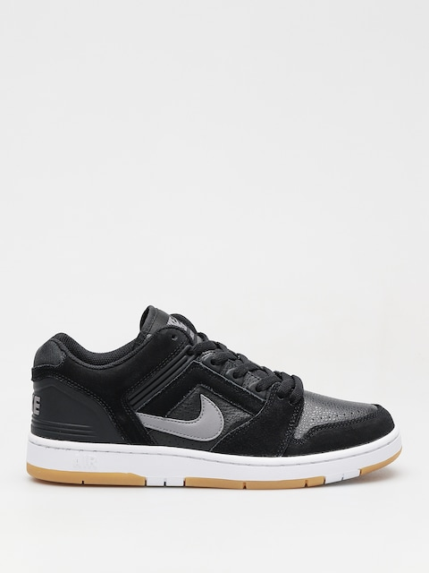 Topánky Nike SB Sb Air Force II Low (black/gunsmoke white gum light brown)
