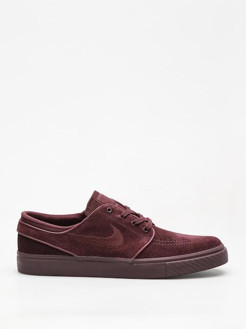 Topánky Nike SB Sb Zoom Stefan Janoski (burgundy crush/burgundy crush)