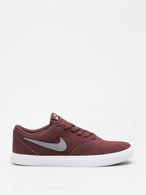 Topánky Nike SB Sb Check Solarsoft (burgundy crush/gunsmoke white black)