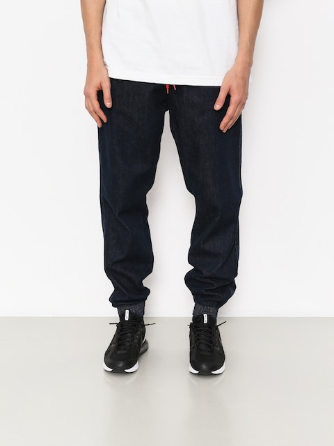 Nohavice El Polako Jogger School (dark blue)